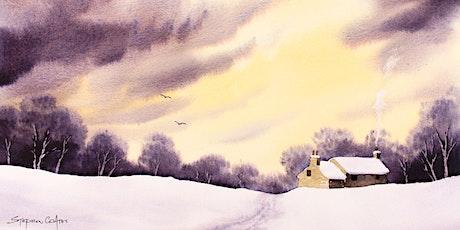 Watercolour Workshop- Stormy Winter Landscape by Steve Coates tickets