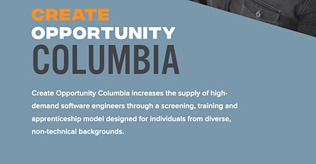 Create Opportunity Columbia Information Session tickets