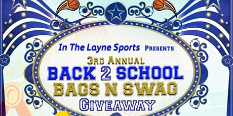 IN THE LAYNE BACK 2 SCHOOL BAGS AND SWAG GIVEAWAY tickets