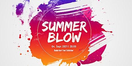 Summer Blow l 2021 Tickets