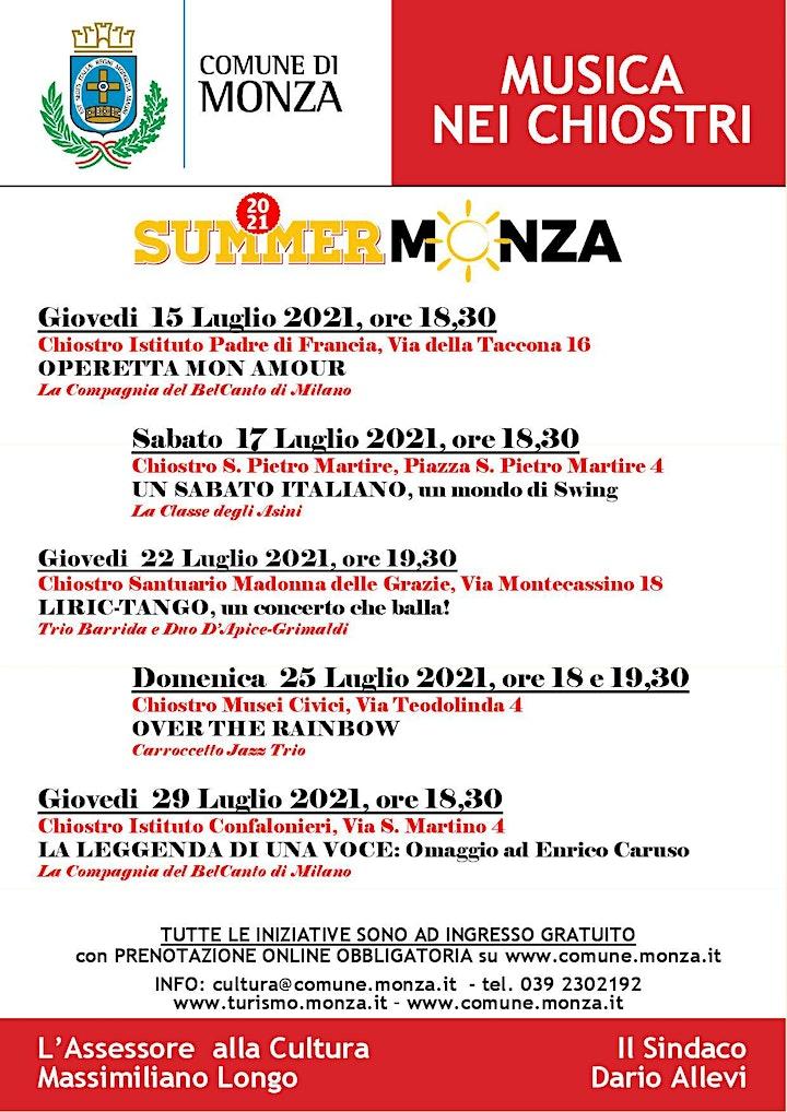 Immagine LA LEGGENDA DI UNA VOCE: omaggio a Enrico Caruso