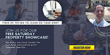 Local Real Estate Investing Property Showcase - Live Webinar tickets