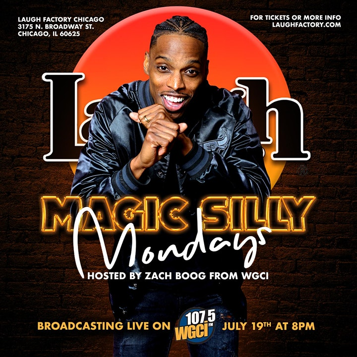 MAGIC SILLY MONDAYS COMEDY SHOW image