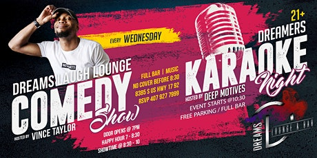 Comedy, Karaoke & Cocktails at The Dreams Lounge tickets