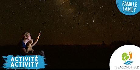 Observation des étoiles / Observation of Stars billets