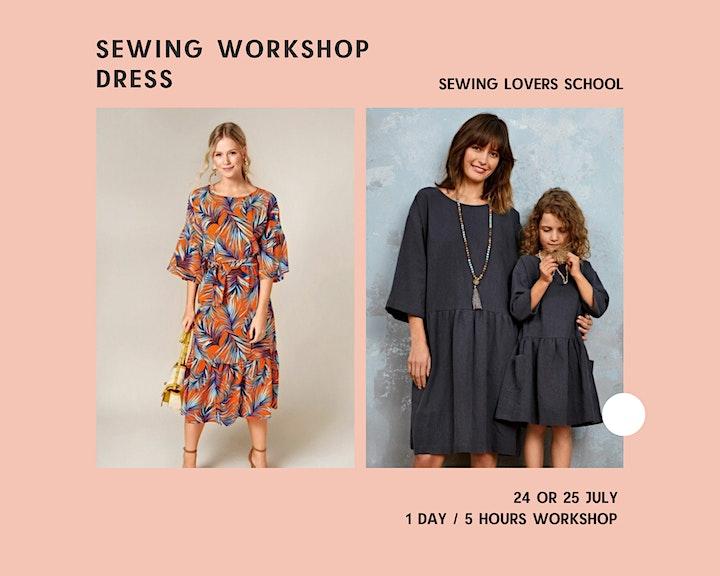 Afbeelding van Sewing workshop Dress/ beginners