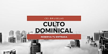 Culto Dominical 08H00 - 10H00 entradas