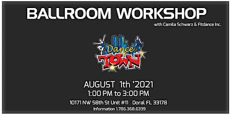 BALLROOM WORKSHOP at DANCETOWN tickets
