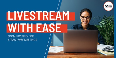 Livestreaming Summer Course: Zoom hosting for stress-free meetings tickets