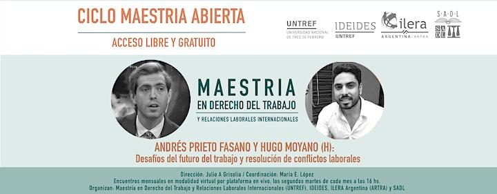 Imagen de CICLO MAESTRIA ABIERTA. Encuentros virtuales en vivo 2021