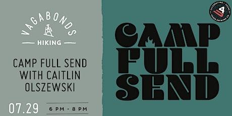 Camp Full Send with Caitlin Olszewski tickets
