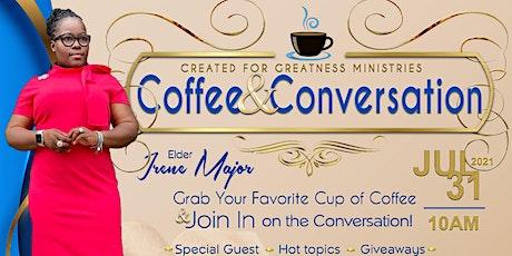 CFGM Coffee & Conversation tickets