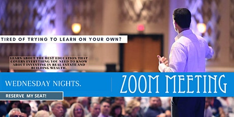 Local Real Estate Investing & Business Training - Live Webinar tickets
