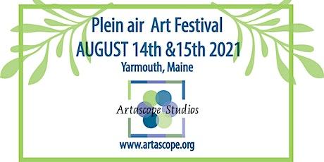 Plein Air Art Festival in Yarmouth, Maine tickets