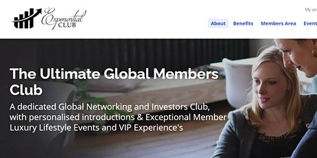 Introducing The Exponential Club Tickets