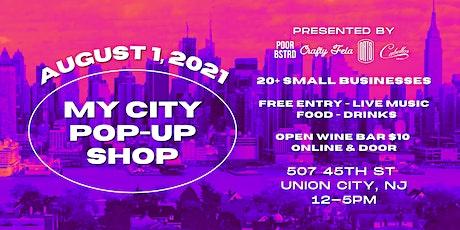 MY CITY POP-UP SHOP - OPEN WINE BAR TICKET tickets