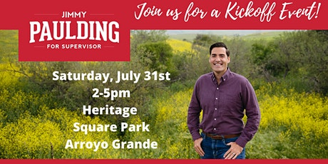 Jimmy Paulding for Supervisor Kickoff Event! tickets