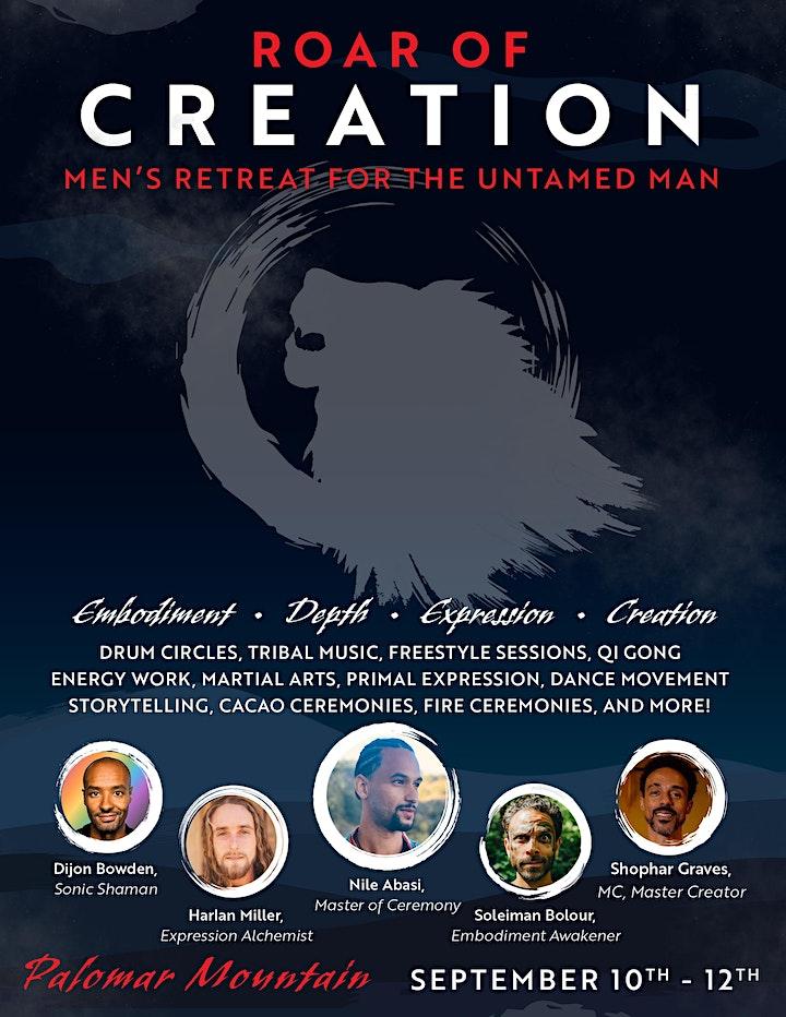 Roar Of Creation: Men's Retreat image