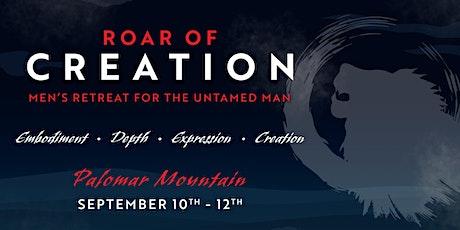 Roar Of Creation: Men's Retreat tickets