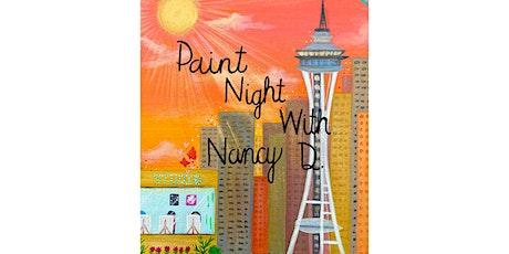 Paint Night With Nancy D. (Seattle, WA) tickets