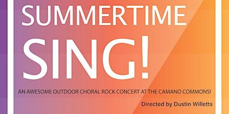 Summertime Sing! An Outdoor Rock-Choir concert on Camano Island tickets