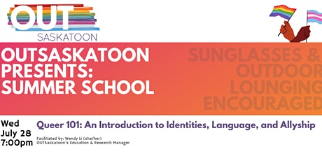 Queer 101: An Introduction to Identities,Language, and Allyship tickets
