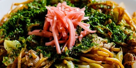 Zoom Cooking Social: Authentic Japanese Yakisoba tickets