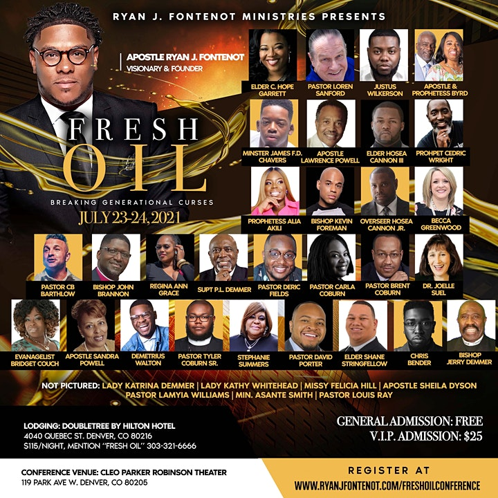 Fresh Oil Conference: Breaking Generational Curses image