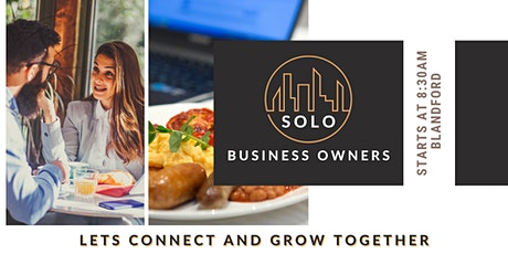 SOLO Business Owners Brunch Networking Event - Blandford tickets