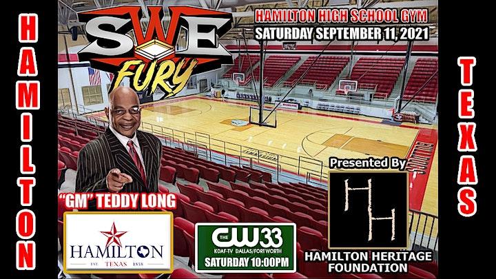 SWE FURY TV LIVE!  HAMILTON, TEXAS image