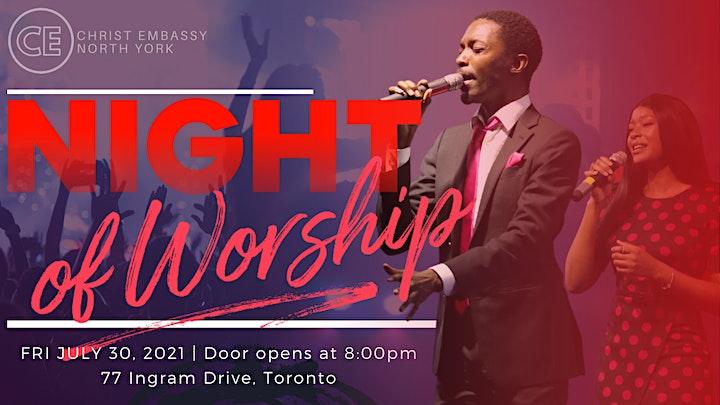 CHRIST EMBASSY NIGHT OF WORSHIP! image