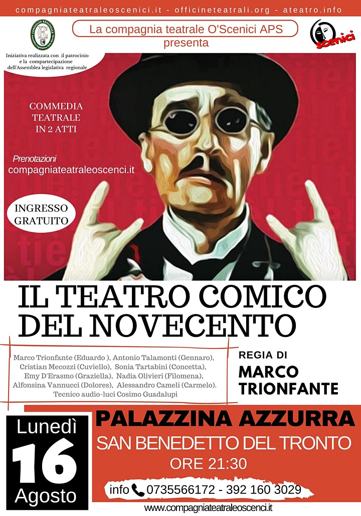 Immagine Il Teatro Comico del Novecento - Spettacolo Teatrale