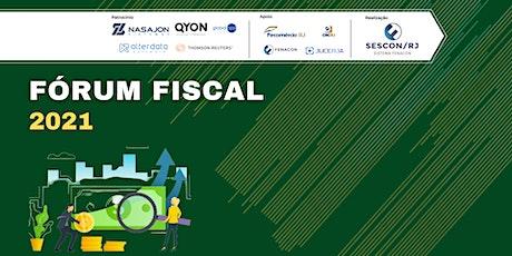 Fórum Fiscal 2021 - Sescon RJ ingressos