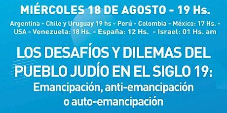 LOS DESAFÍOS Y DILEMAS DEL PUEBLO JUDÍO EN EL SIGLO 19: DR. UDI MANOR entradas