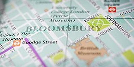 On the Trail of Aliens in 1930s Bloomsbury tickets