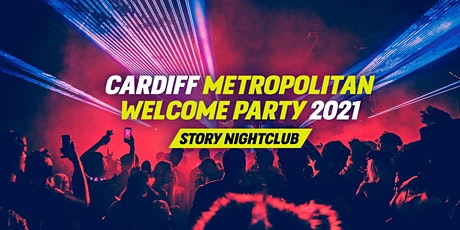 The Cardiff Metropolitan Welcome Party - Cardiff Freshers 2021 tickets