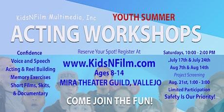 KidsNFilm Summer Workshops & Project Screening tickets