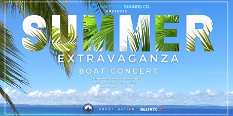 Sapphire Sounds Co. Presents: SUMMER Extravaganza Boat Concert tickets
