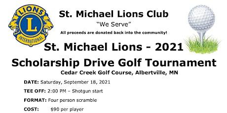 St. Michael Lions - 2021  Scholarship Drive Golf Tournament tickets