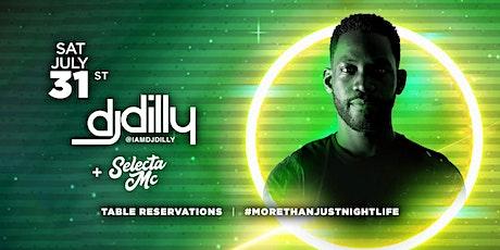 Vanity Saturdays: DJ DILLY w/ Selecta MC! tickets
