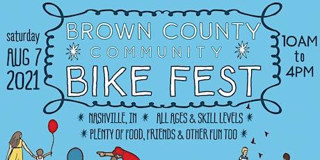 Brown County Community Bike Festival tickets