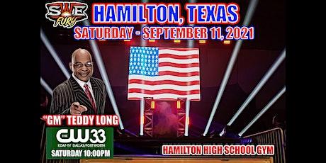 SWE FURY TV LIVE!  HAMILTON, TEXAS tickets