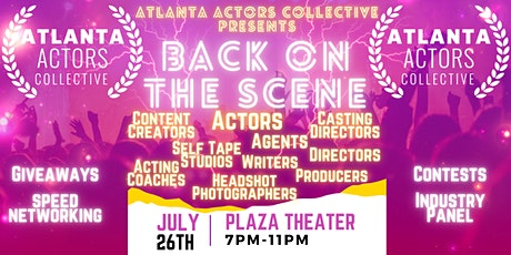 Atlanta Actors Collective Presents: Back on the Scene tickets