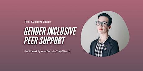 Gender Inclusive Peer Support bilhetes