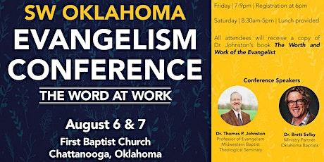SW Oklahoma Evangelism Conference tickets
