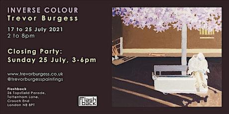 Inverse Colour: Trevor Burgess tickets