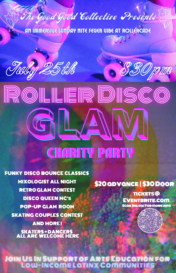 Roller Disco Glam Party image