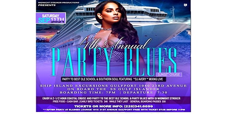 Party Blues Cruise AT Sunset tickets