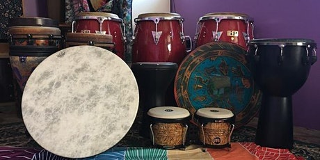 """Sacred Groove Rhythm Temple """"Your Drum Ultimate Drum Class) tickets"""