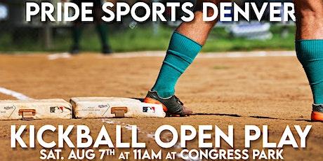 Pride Sports Denver - Kickball Open Play tickets